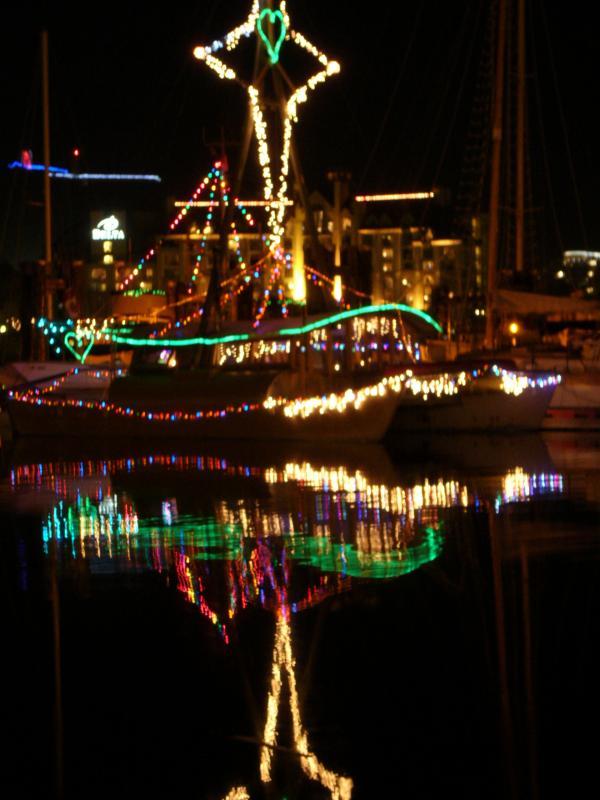 Victoria Harbor Christmas Lights