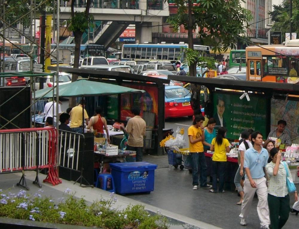 Bangkok Street Scene