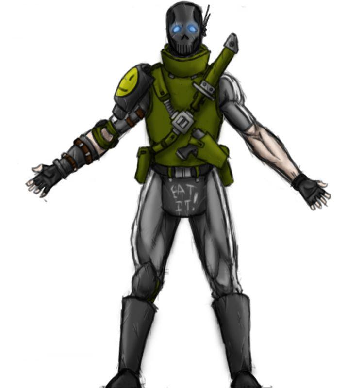 Zero armour final concept