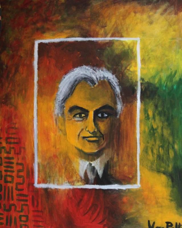 Portrite of Richard Dawkins