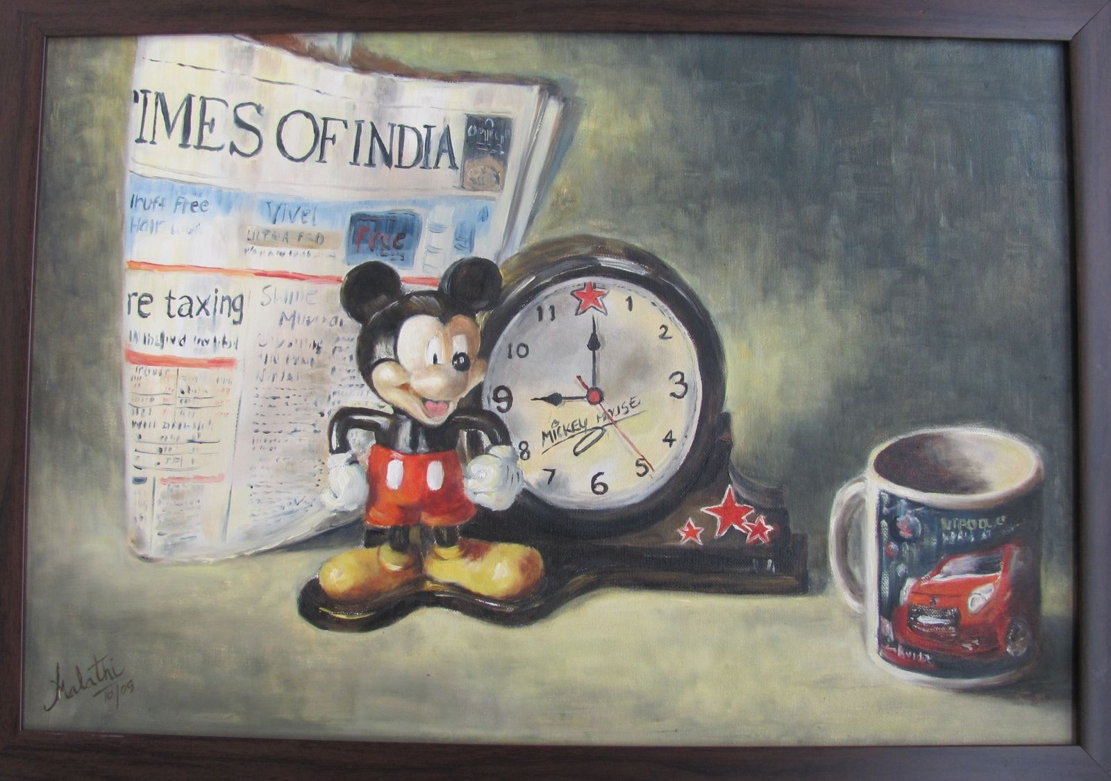 Mickey Mouse and the Times of India