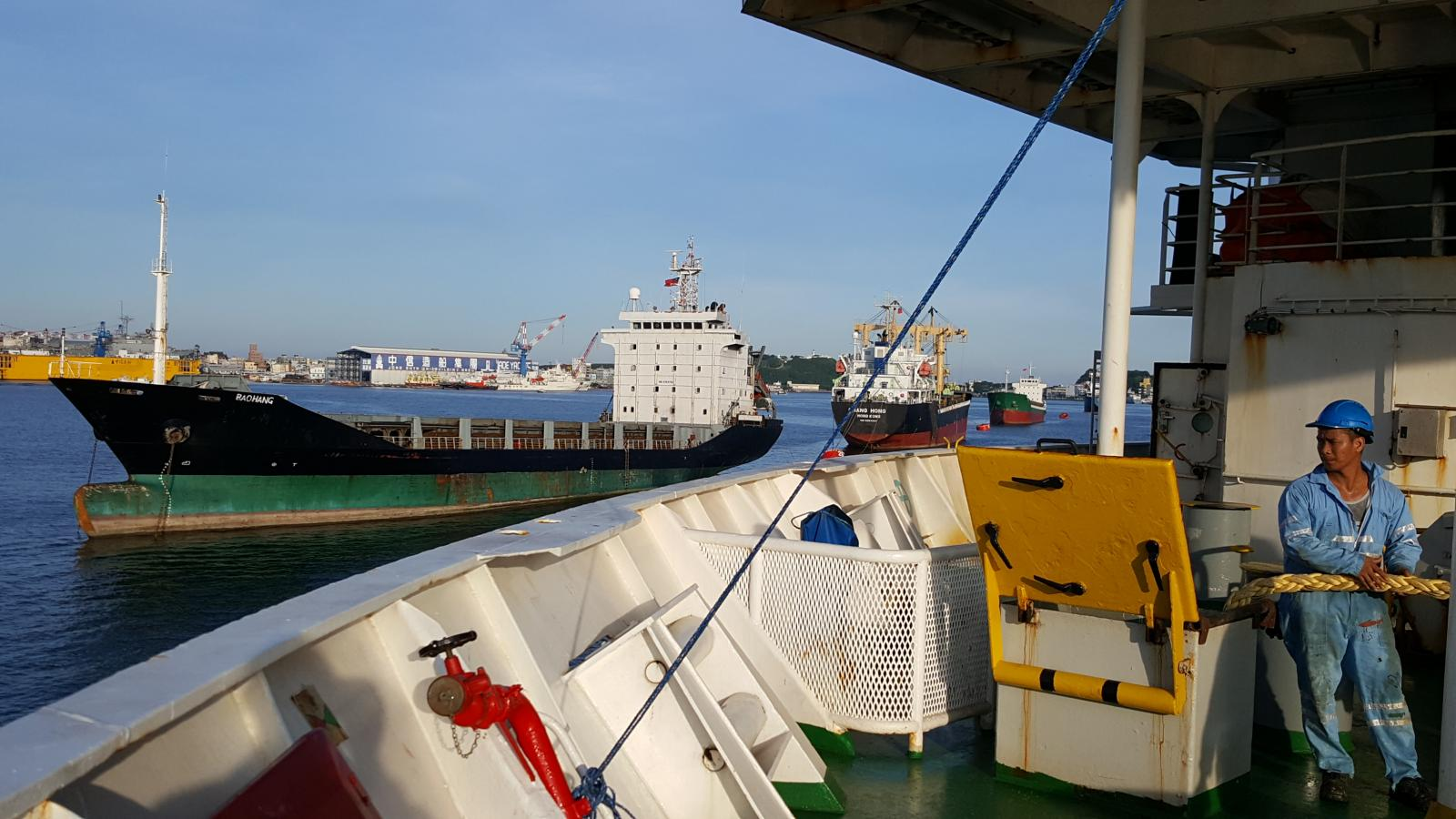 Cable Retriever securing for sea
