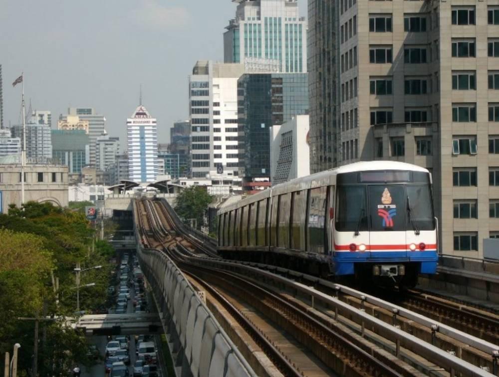 Bangkok Skytrain or BTS