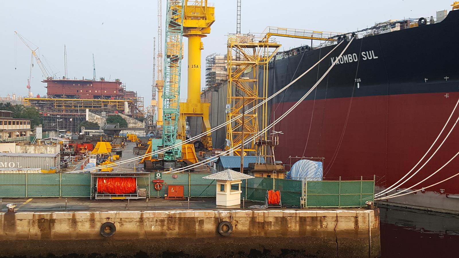 Kaombo Sul in Sembawang Shipyard, Singapore - March, 2017