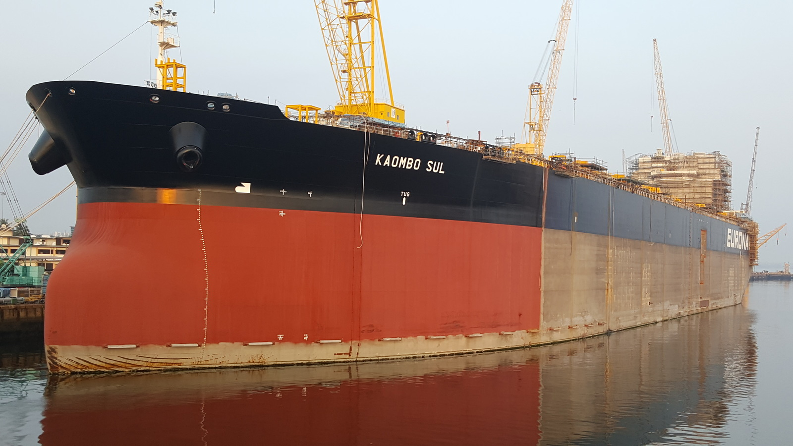 Kaombo Sul in Sembawang Shipyard, Singapore - March, 2017