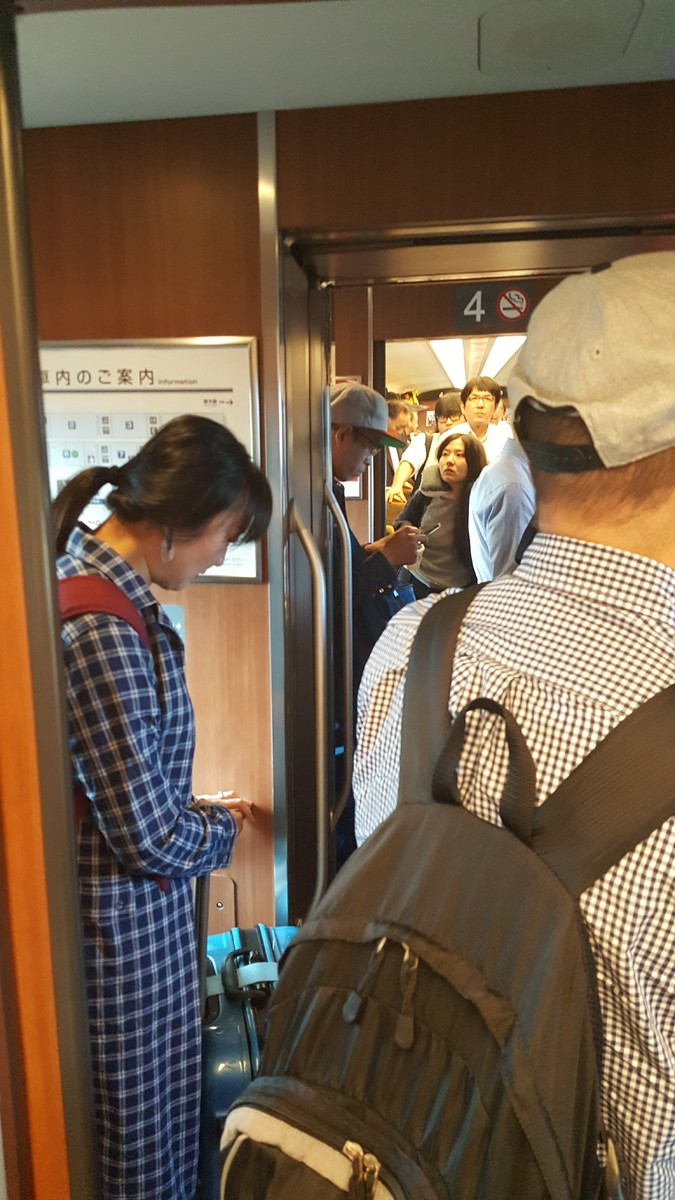 """We will be making a very brief stop at Hakata"""