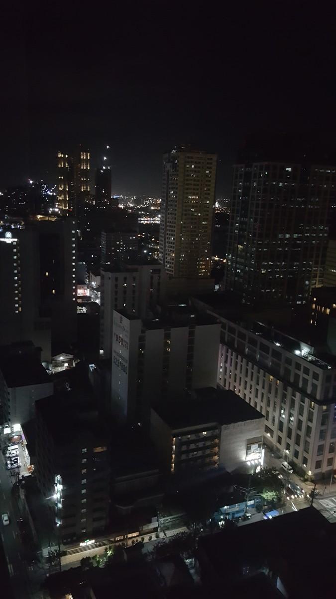 Night View of Malate