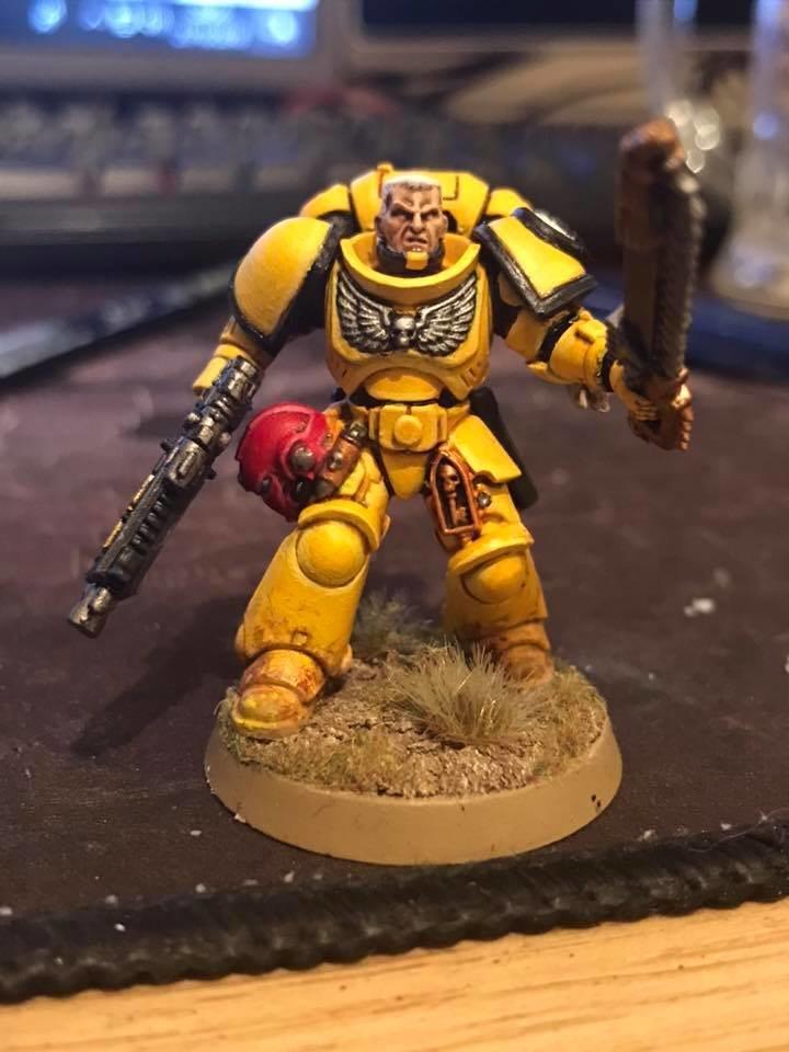 Imperial Fists Primaris Sargent