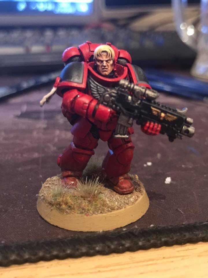 Blood Angels Primaris Marine