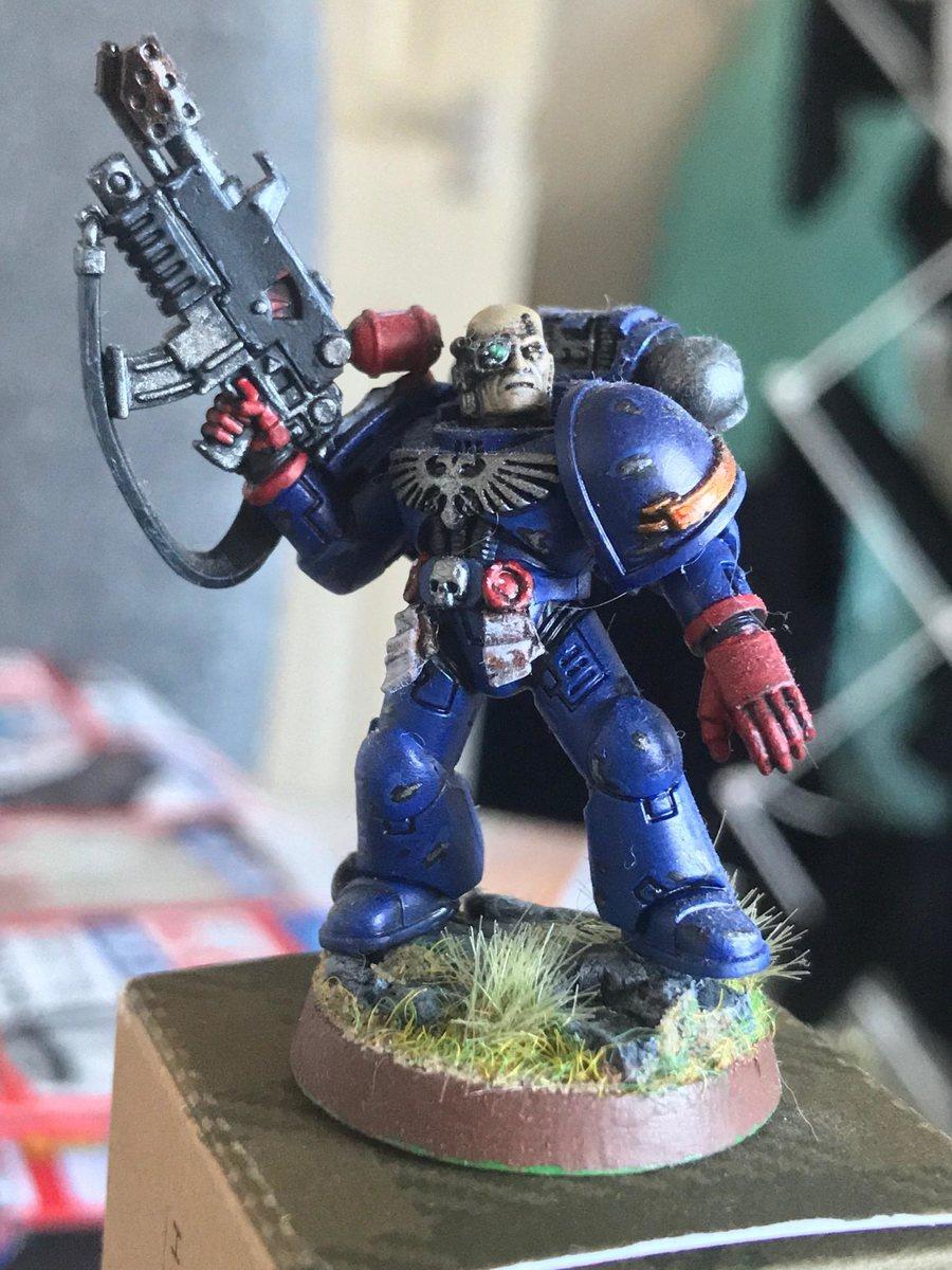Crimson Fists Veteran