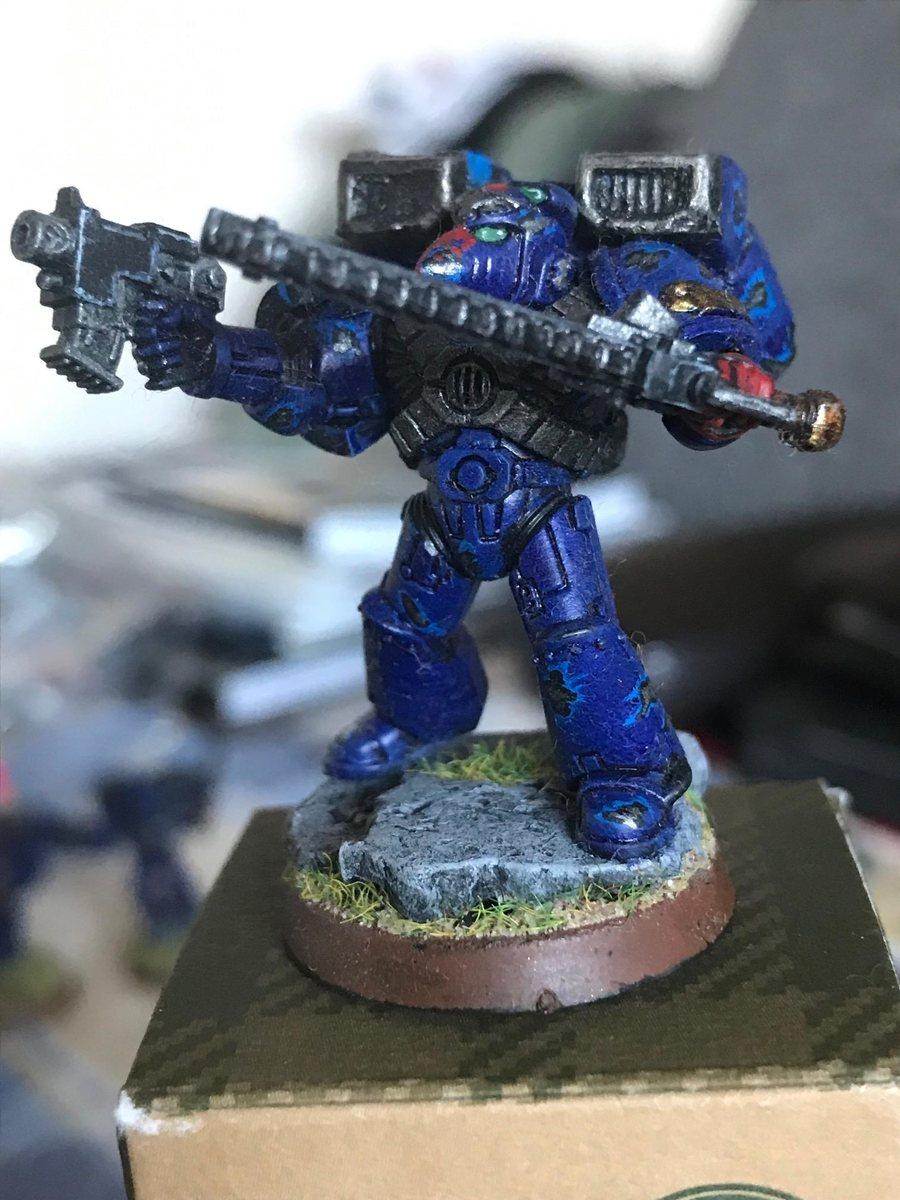 Crimson Fists Assault Marine