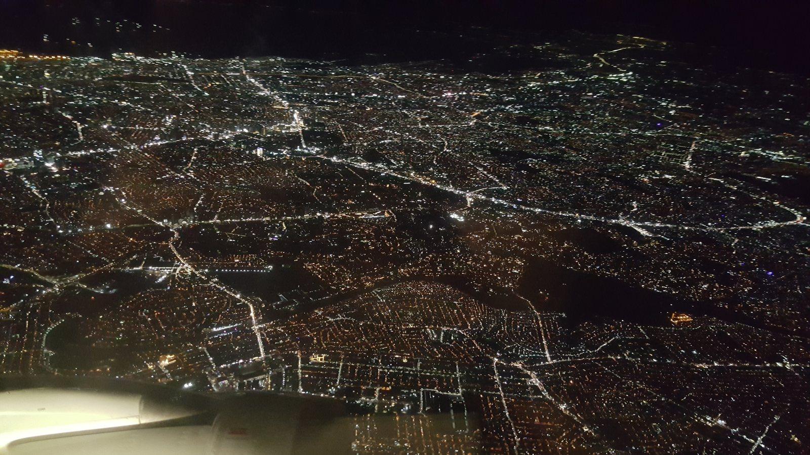 Night flight to Bangkok!