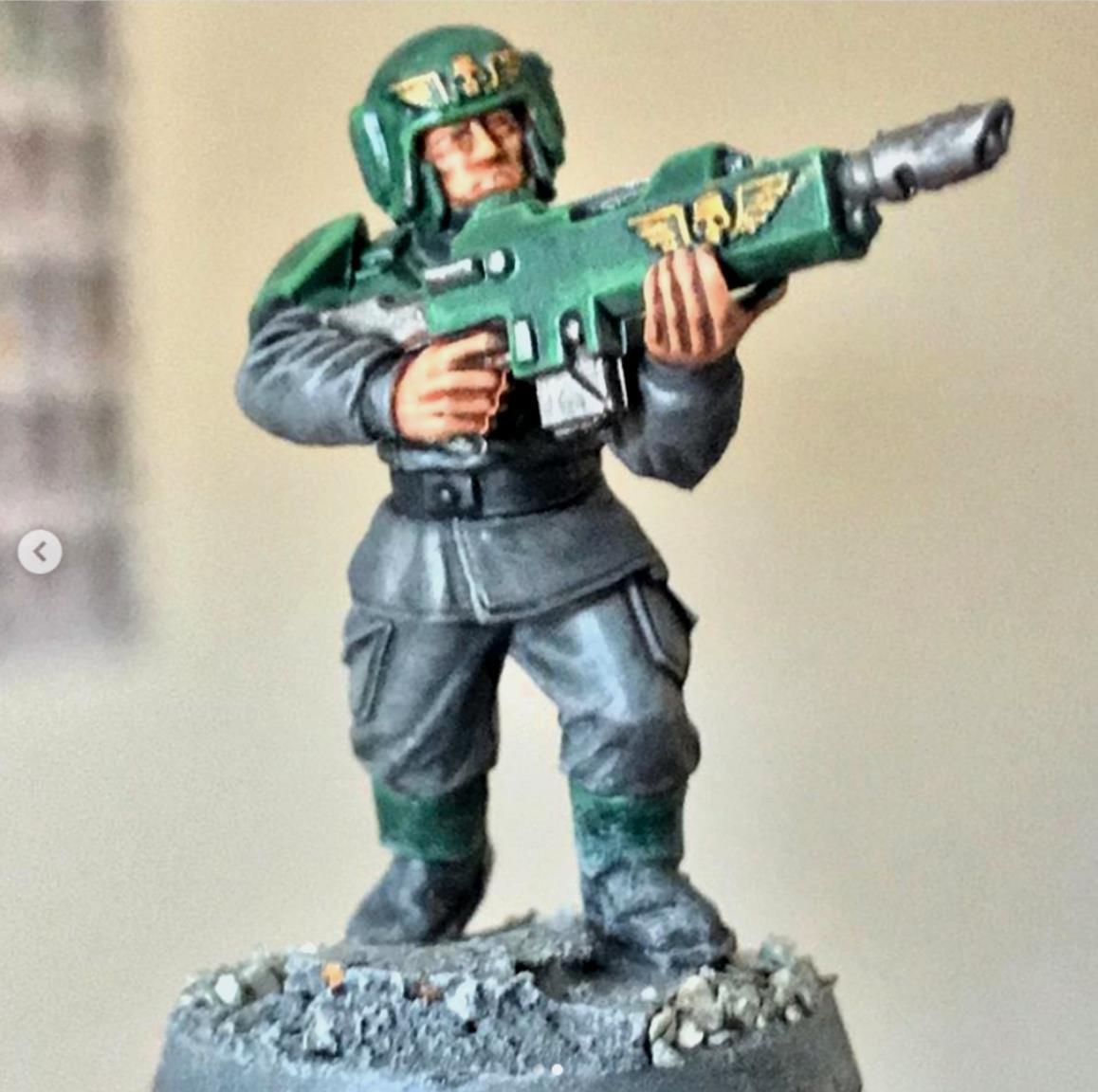 Astra Militarum Trooper