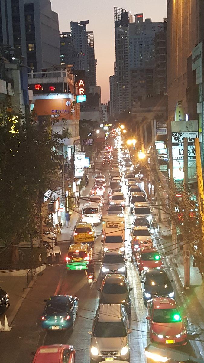 Bangkok coming back to life after the long holidays! :)