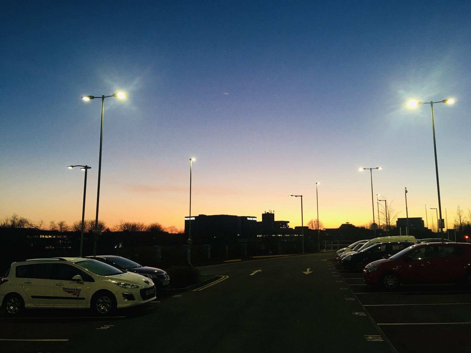 Basingstoke sunset