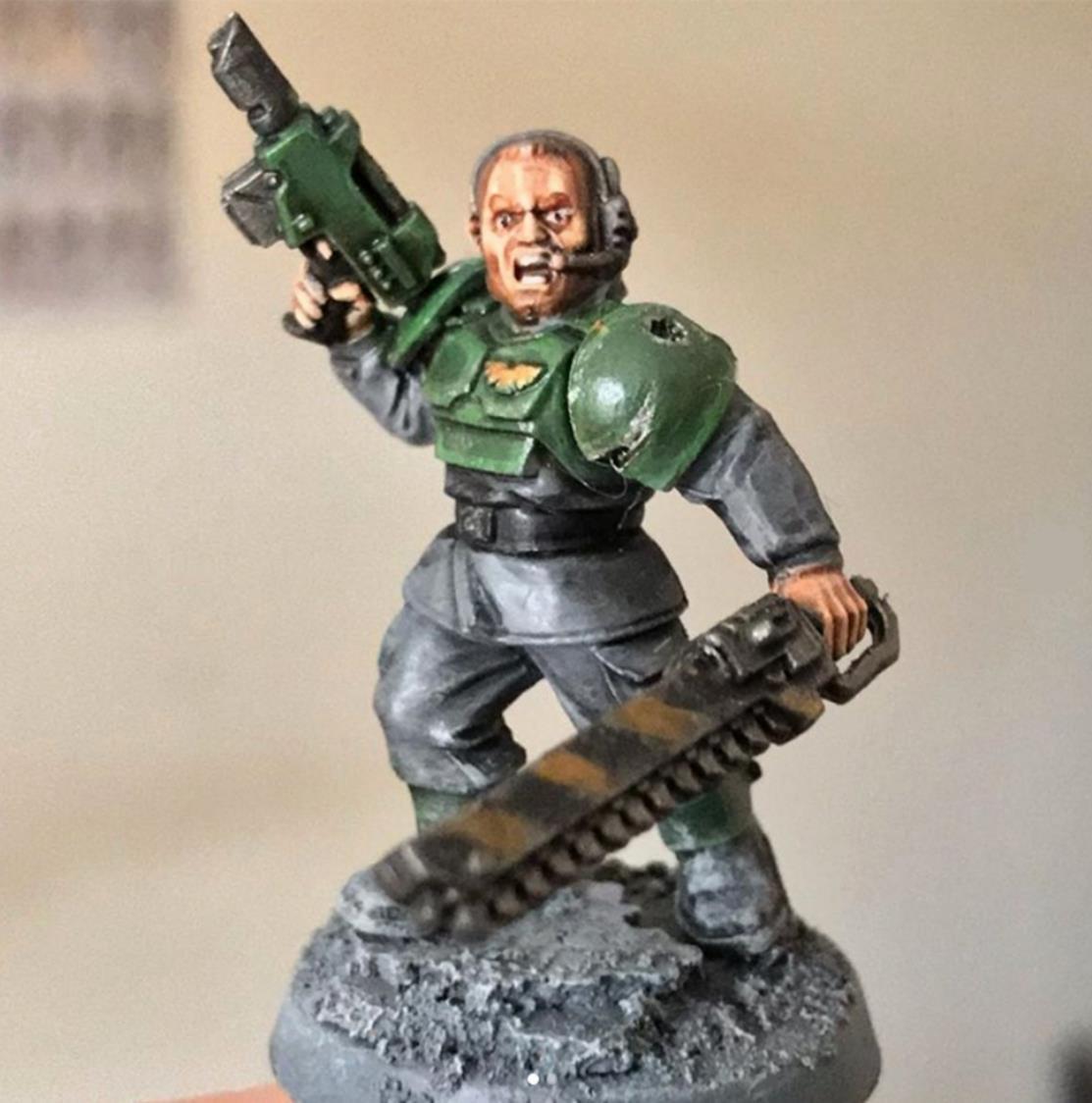 Astra Militarum Seargent