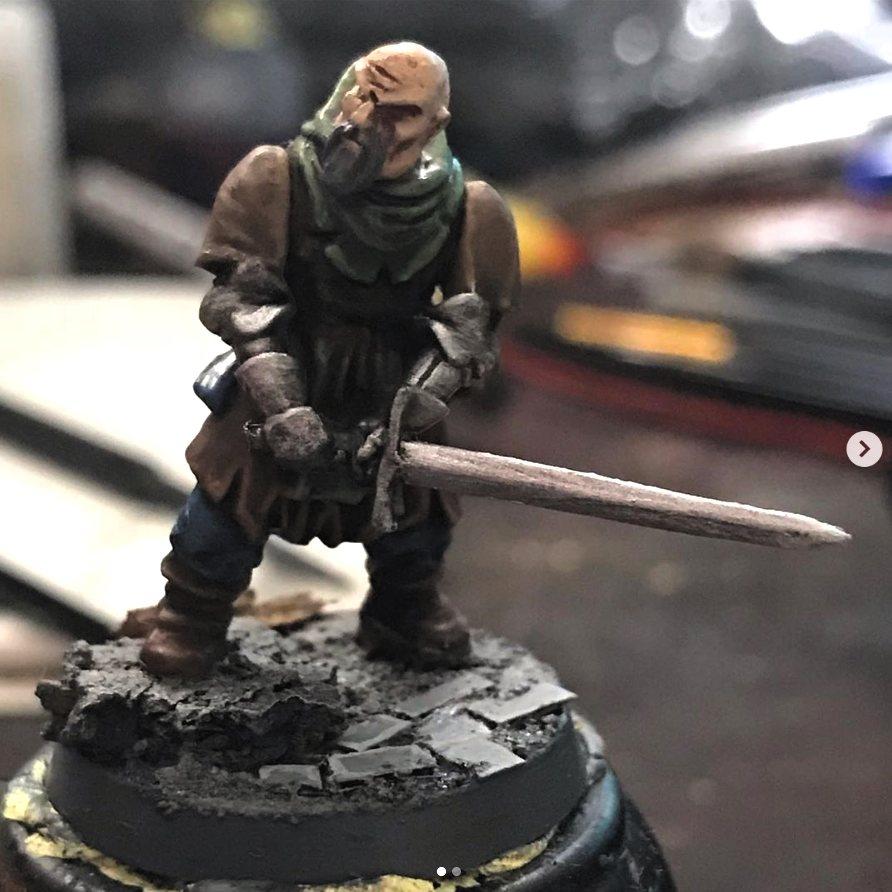 Mordheim Mercenary 1