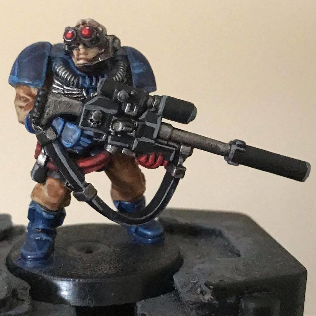 Crimson Fists Scout Sniper