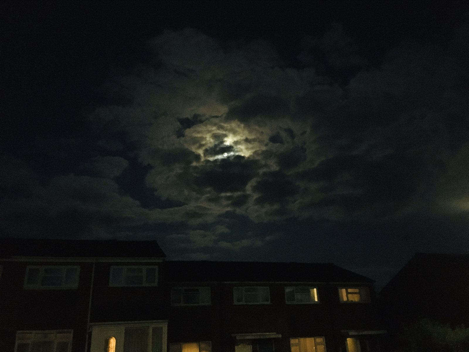 Covid-19 moon in lock-down mode