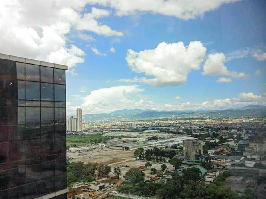 top view at exxa tower building