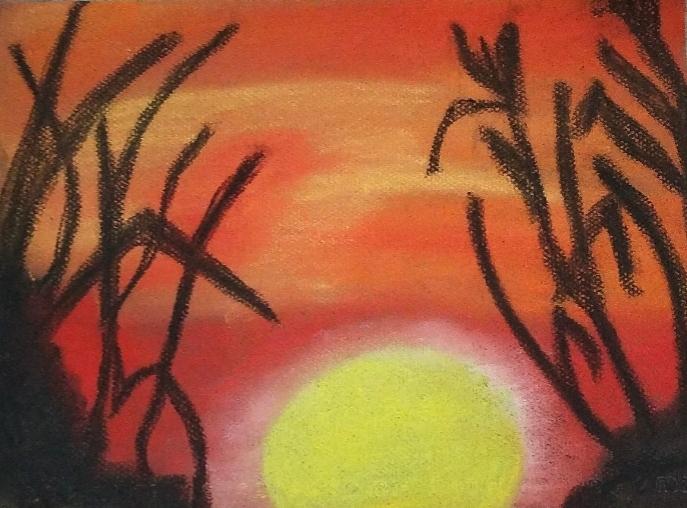 Orange Sky Sun