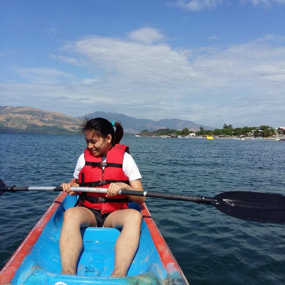 Kayak boat ride