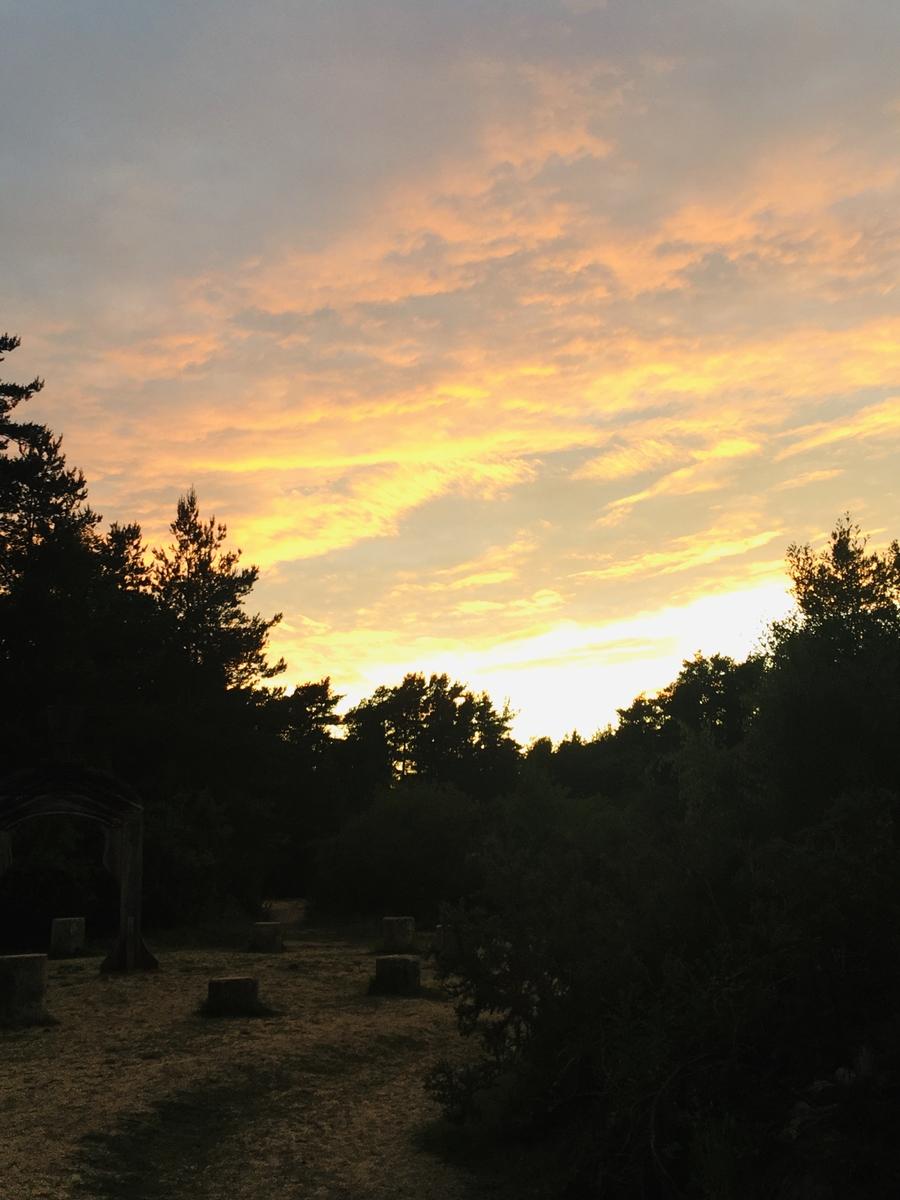 Sunset over the Roman Gate, Hogmoor Inclosure
