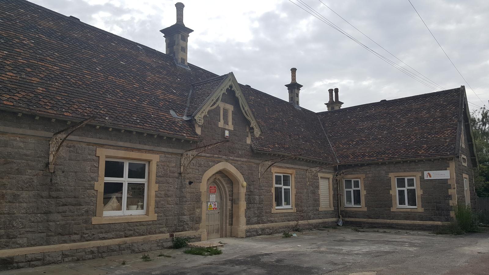 Cheddar Railway Station Building