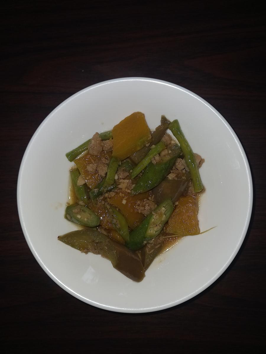 Pinakbet Filipino Dish