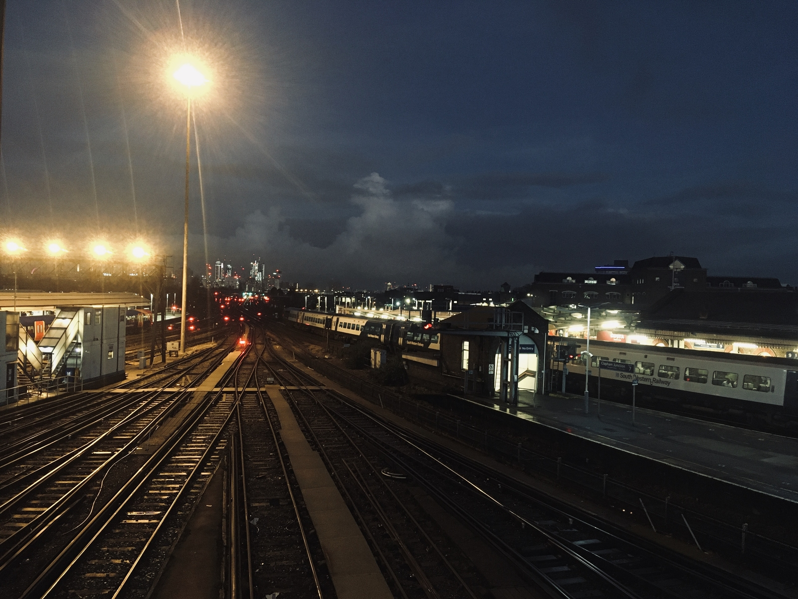 Clapham Junction by Night