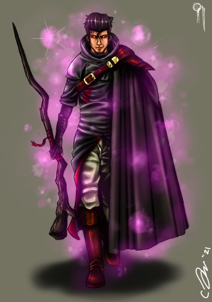 Cursed Amirul the Magician