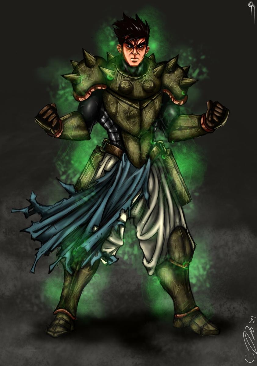 Cursed Rando the Warrior
