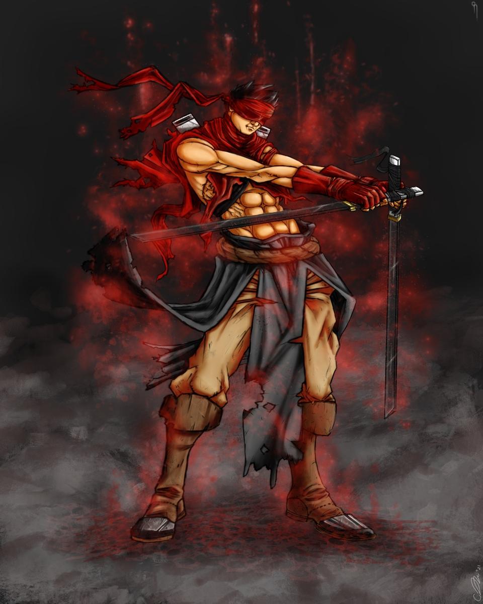 Cursed Mike the Swordsman